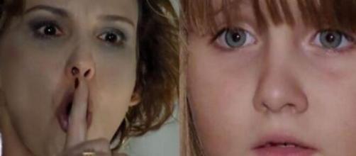 Eva e Júlia vivem atrito em 'A Vida da Gente' (Fotomontagem/Reprodução/Rede Globo)