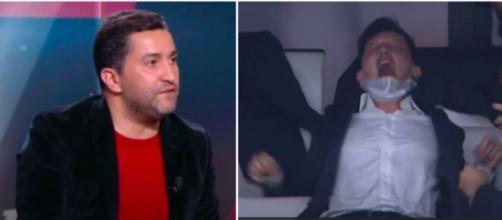 Nabil Djellit se paye Pablo Longoria - Photo captures d'écran Vidéo Youtube et Canal+