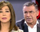 Ana Rosa Quintana y Jorge Javier Vázquez, en dos márgenes de la grieta abierta en Telecinco. (Fotos: Telecinco)