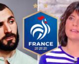 Le retour de Karim Benzema fait beaucoup parler sur les réseaux sociaux - Photo capture d'écran Instagram Benzema, vidéo twitter, logo fff wiki