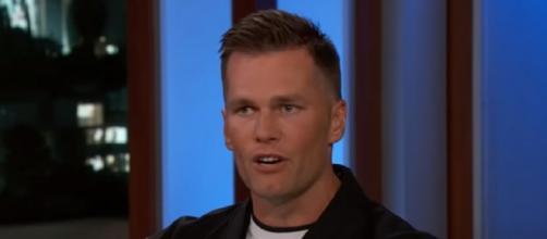 Brady led the Bucs to a Super Bowl win (Image source: Jimmy Kimmel Live/YouTube)