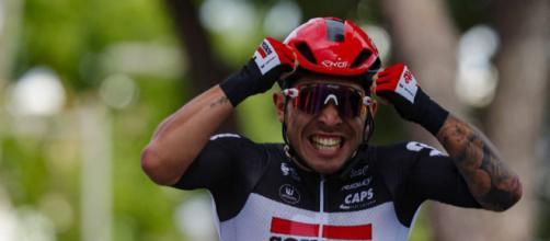 Caleb Ewan, due vittorie di tappa in questo Giro d'Italia.