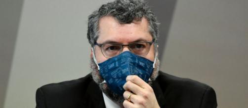 Ex-chanceler Ernesto Araújo era membro do núcleo ideológico do governo Bolsonaro (Jefferson Rudy/Agência Senado)