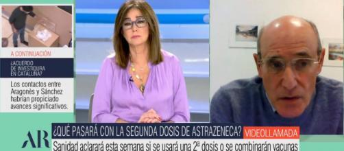 Exconsejero sanitario habla acerca de AstraZeneca (El programa de Ana Rosa)
