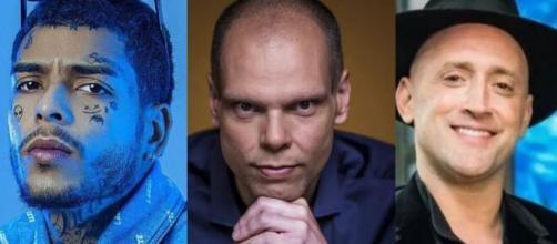 MC Kevin, Bruno Covas e Paulo Gustavo faleceram neste mês (Fotomontagem)