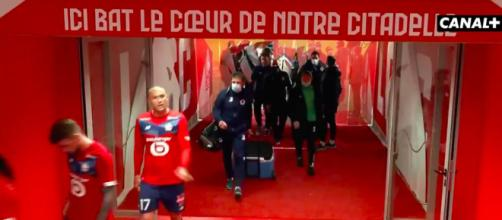 Le message fort de Burak Yilmaz dans les couloirs de Pierre Mauroy - Photo capture d'écran Vidéo