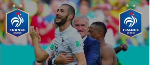 Les coulisses du retour de Benzema en équipe de France - Photo Twitter et logo FFF