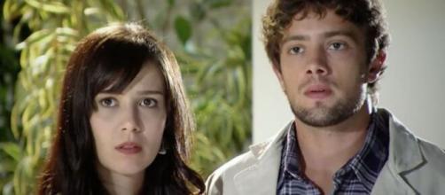 Manuela e Rodrigo passam por problemas no relacionamento em 'A Vida da Gente' (Reprodução/TV Globo)