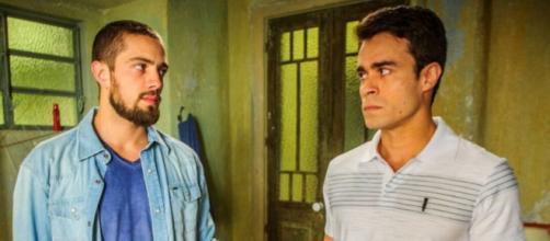 Vicente e Enrico em 'Império' (Reprodução/Rede Globo)