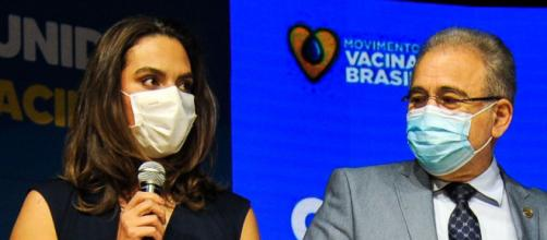 Infectologista Luana Araújo se desliga da secretaria de enfrentamento à Covid-19 (Marcello Casal Jr/Agência Brasil)