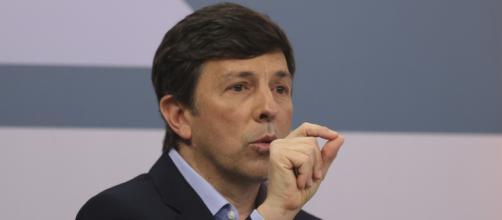 João Amoedo espera que surja terceira via como opção a Lula e Bolsonaro (Marcello Casal jr/Agência Brasil)