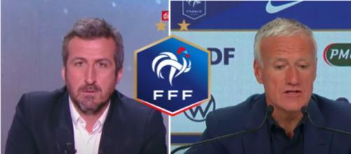 Le coup de gueule de Micoud contre Didier Deschamps - Photo capture d'écran vidéos Youtube et Twitter