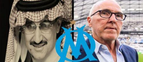 Le rachat de l'OM par les saoudiens se précise un peu plus - Source : Montage photos