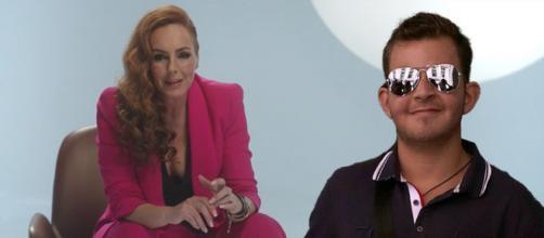 Rocío Carrasco y su hijo David. (Telecinco y @rotrece)