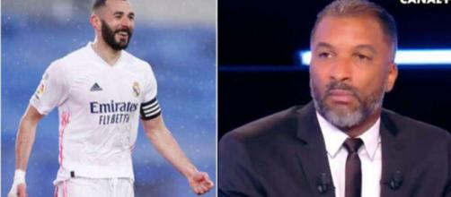 'C'est une légende', l'hommage d'Habib Beye à Karim Benzema - Capture d'écran vidéo