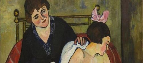 Suzanne Valadon's 'Lost Doll' (detail) (Image source: Wikimedia Commons)