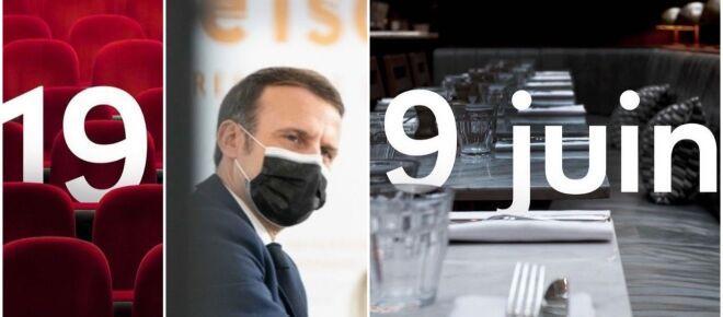 Emmanuel Macron 'imite Netflix' pour annoncer les dates de réouverture avec humour (Vidéo)