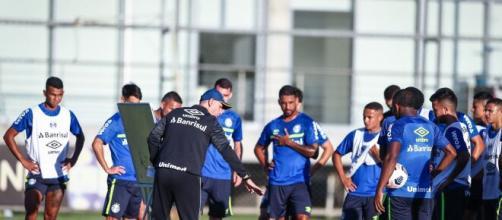 Grêmio enfrenta o Aragua com olho no GreNal (Lucas Uebel/Grêmio FBPA)