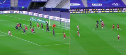 L'action de grande classe qui montre que Mbappé est au-dessus du lot - Photos Capture d'écran vidéo France 2