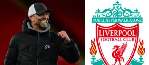 Le nouveau maillot de Liverpool fuite - Photo captures d'écran Instagram et logo liverpool