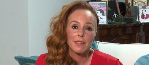 Rocío Carrasco en videoconferencia con 'Sálvame' en la previa de la presentación del episodio 11 (Telecinco)