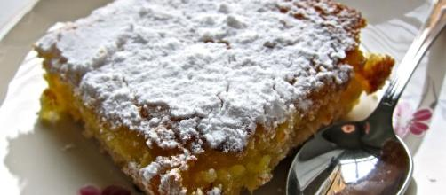 Torta lemon square: un buonissimo dolce.
