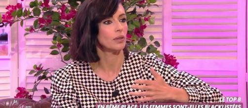 La chroniqueuse de TPMP Géraldine Maillet explique son amitié avec Valérie Bénaïm - capture d'écran C8