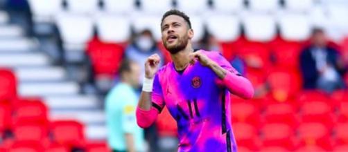 Neymar dévoile son 'joueur parfait' - Photo capture d'écran photo Instagram Neymar