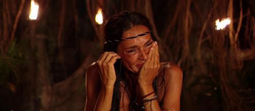 Olga Moreno se echa a llorar mientras confiesa sus remordimientos y sentimientos hacia Rocío Flores (Twitter: @Supervivientes)