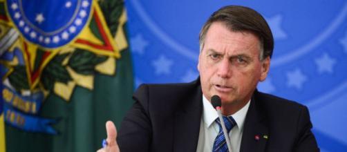 Presidente Bolsonaro mostra nervosismo ao falar da CPI da Covid (Agência Brasil)