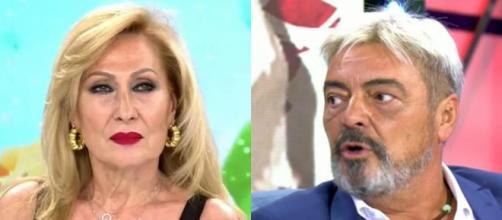 Rosa Benito y Antonio Canales, enfrentados (Telecinco)