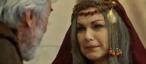 Sarah desperta paixão em 'Gênesis' (Reprodução/Record TV)