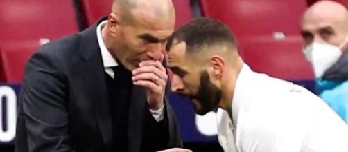 Zidane craint le 'Benzema bashing' - Screen vidéo Twitter @RMCsport