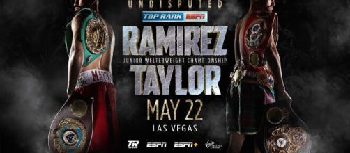 Ramirez vs Taylor, diretta streaming su Fite TV.