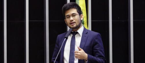 Antes apoiador, deputado Kim Kataguiri hoje faz oposição ao presidente Bolsonaro (Luis Macedo/Câmara dos Deputados)