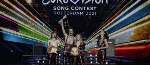 I Maneskin hanno trionfato all'Eurovision Song Contest 2021.