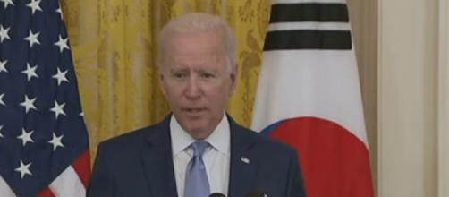 Joe Biden conducts bilateral talks with president of South Korea (Image source: Sky News Australia/YouTube)