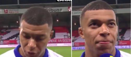 Les mots forts de Kylian Mbappé après le match contre Brest - Photo capture d'écran vidéo Canal+