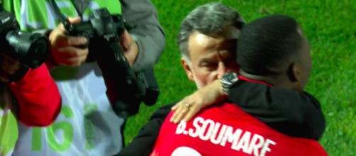 Les mots forts du coach lillois - Photo capture d'écran vidéo Canal+