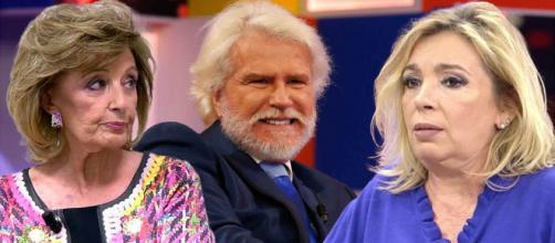 Carmen Borrego analiza la relación que mantuvieron su madre y Edmundo Arrocet (Fotos de Telecinco y Telemadrid)