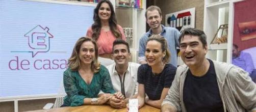 'É de Casa' é um programa da Globo (Reprodução/TV Globo)