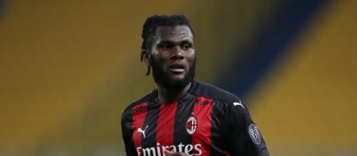 Franck Kessie decisivo per il Milan.