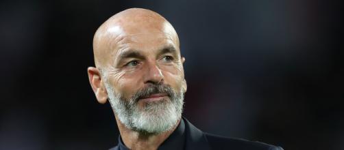 In foto Pioli, allenatore del Milan.