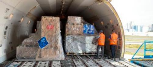 Las vacunas dañadas forman parte del cargamento enviado por Rusia para combatir el COVID-19 (Twitter;@sputkinvaccine)