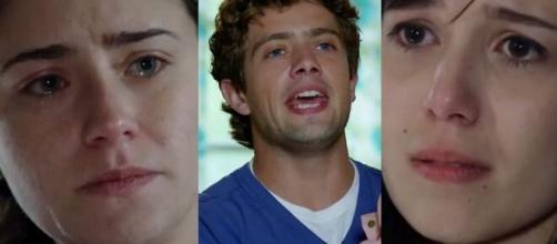 Ana, Rodrigo e Manuela em 'A Vida da Gente' (Fotomontagem/Reprodução/Rede Globo)