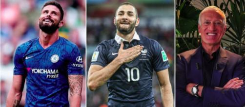 Les confidences de Benzema - Photo captures d'écran Instagram des joueurs et vidéo Youtube Didier Deschamps