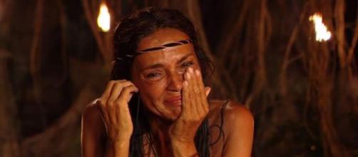Olga Moreno en Supervivientes (Fuente: Telecinco)