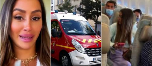 Une fausse tentative de suicide de Marine ? Les pompiers envoyés en urgence chez leurs amis.