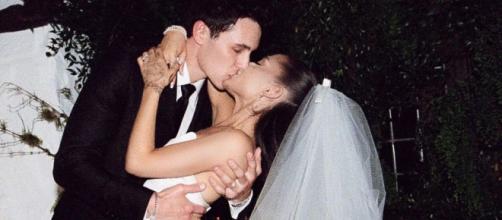 Ariana Grande svela il suo matrimonio a Vogue