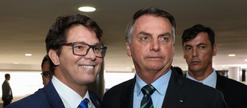 Mário Frias, o secretário especial de Cultura, é um apaixonado por armas, assim como o presidente Jair Bolsonaro (Marcos Corrêa/PR)